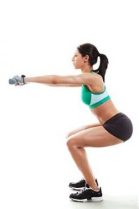 Фитнес для девушек дома из бруса терем